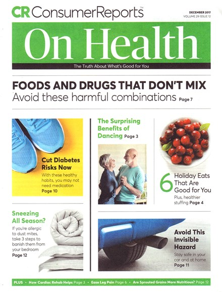 Consumer Reports On Health Cover - 12/1/2017