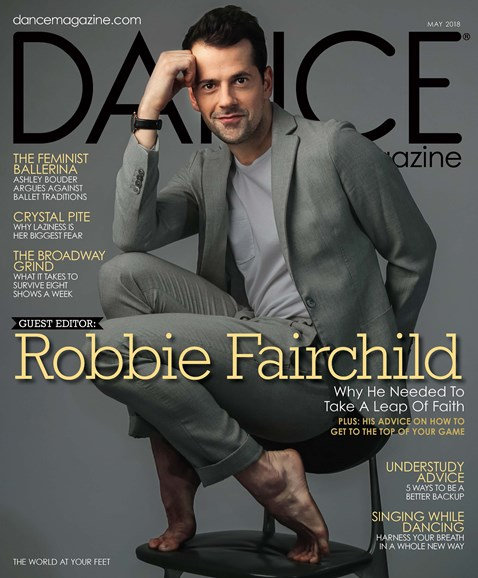 Dance Magazine Cover - 5/1/2018