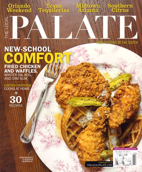 The Local Palate Cover - 2/1/2018