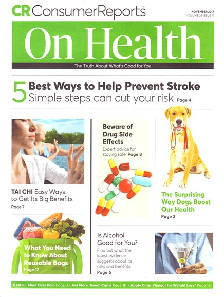 Consumer Reports On Health Cover - 11/1/2017