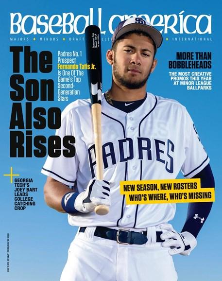 Baseball America Cover - 4/20/2018