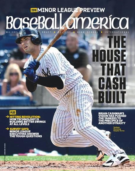 Baseball America Cover - 4/6/2018
