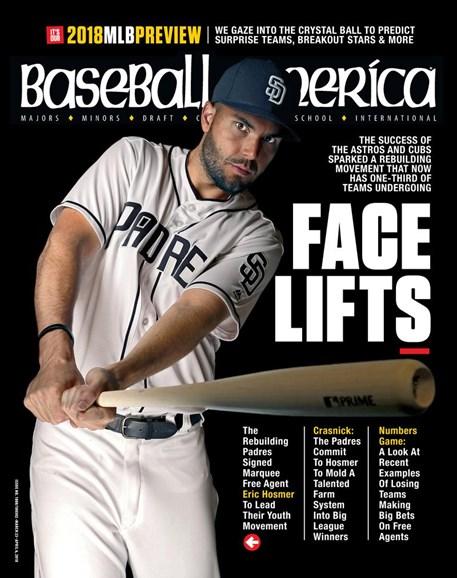 Baseball America Cover - 3/23/2018