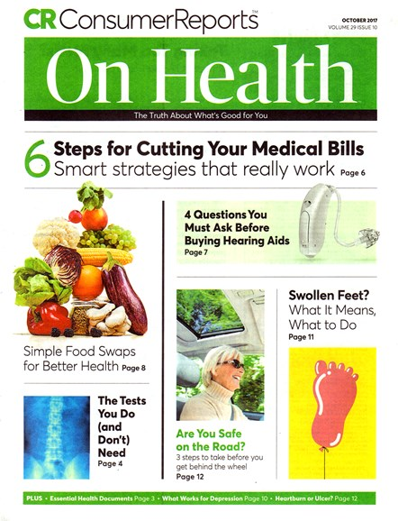 Consumer Reports On Health Cover - 10/1/2017