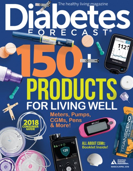 Diabetes Forecast Cover - 3/1/2018