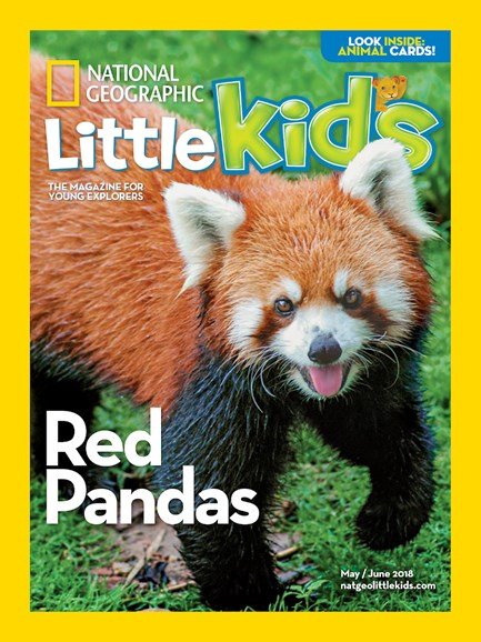 National Geographic Little Kids Cover - 5/1/2018