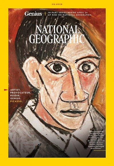 National Geographic Cover - 5/1/2018