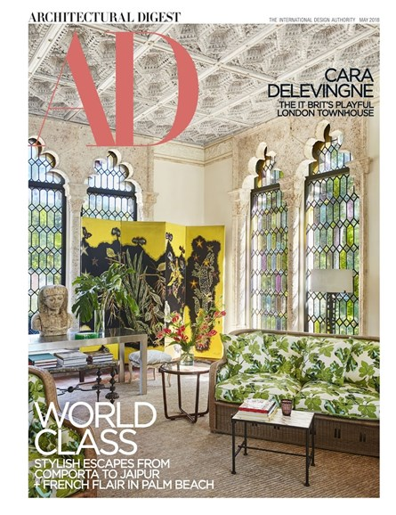 Architectural Digest Cover - 5/1/2018