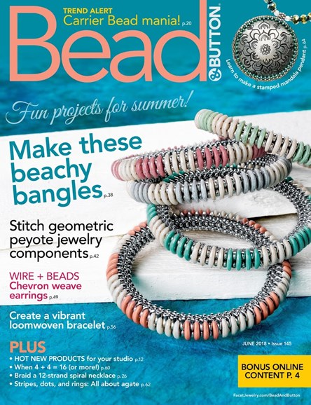 Bead & Button Cover - 6/1/2018