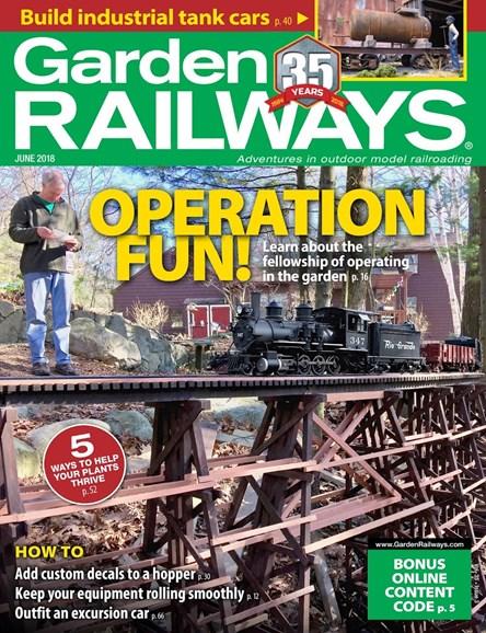 Garden Railways Cover - 6/1/2018