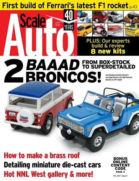Scale Auto Magazine Cover - 6/1/2018