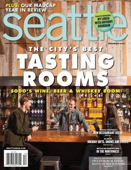 Seattle Magazine Cover - 12/1/2017
