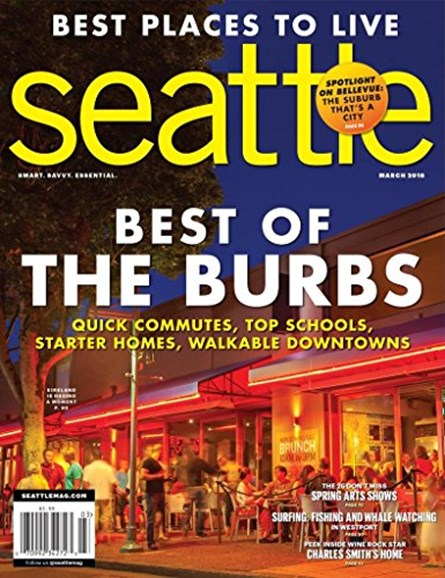 Seattle Magazine Cover - 3/1/2018