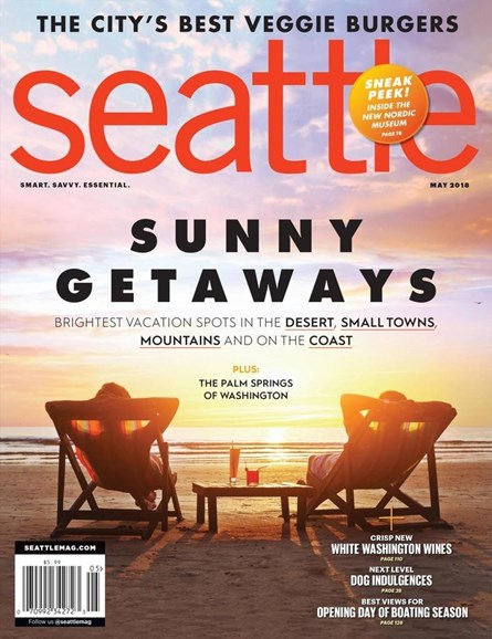 Seattle Magazine Cover - 5/1/2018