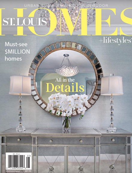 St. Louis Homes & Lifestyles Cover - 5/1/2018