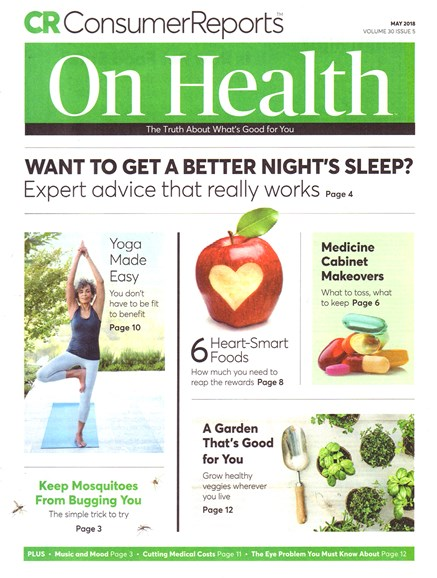 Consumer Reports On Health Cover - 5/1/2018