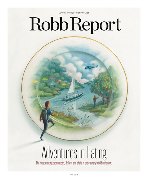 Robb Report Cover - 5/1/2018