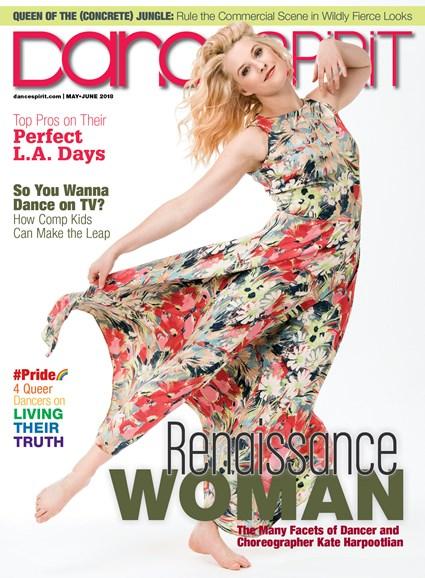 Dance Spirit Cover - 5/1/2018