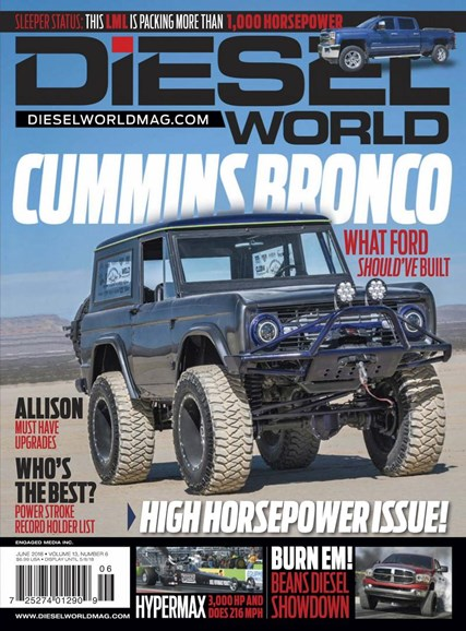 Diesel World Cover - 6/1/2018