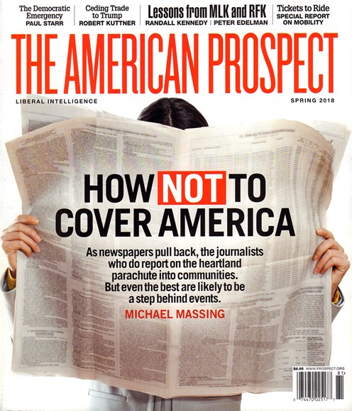 The American Prospect Cover - 4/1/2018