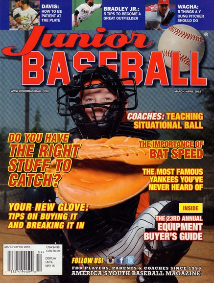Junior Baseball Cover - 3/1/2018