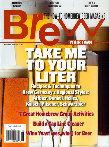 Brew Your Own Cover - 5/1/2018
