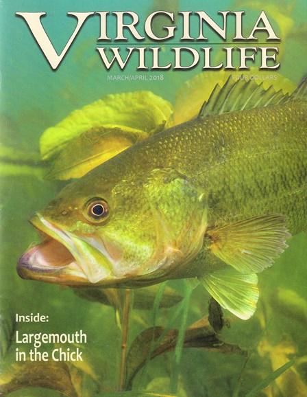 Virginia Wildlife Cover - 3/1/2018