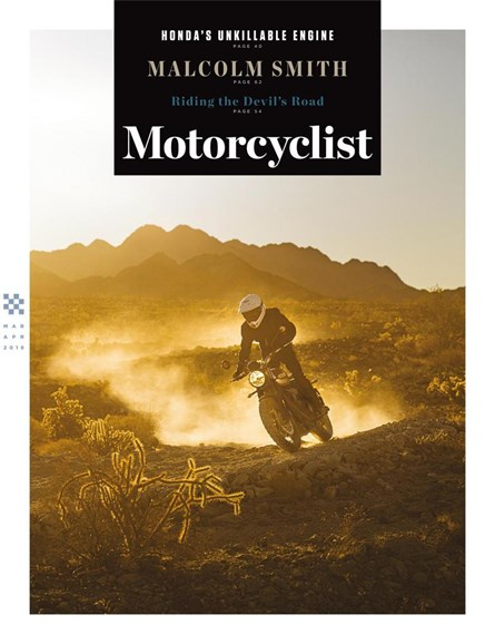 Motorcyclist Cover - 3/1/2018