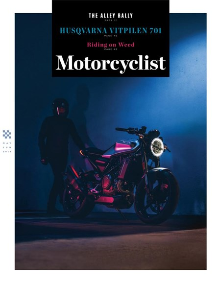Motorcyclist Cover - 5/1/2018