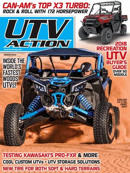 UTV Action Cover - 3/1/2018