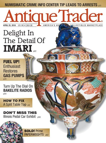 Antique Trader Cover - 4/25/2018