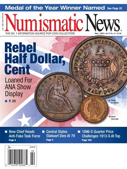 Numismatic News Cover - 5/1/2018
