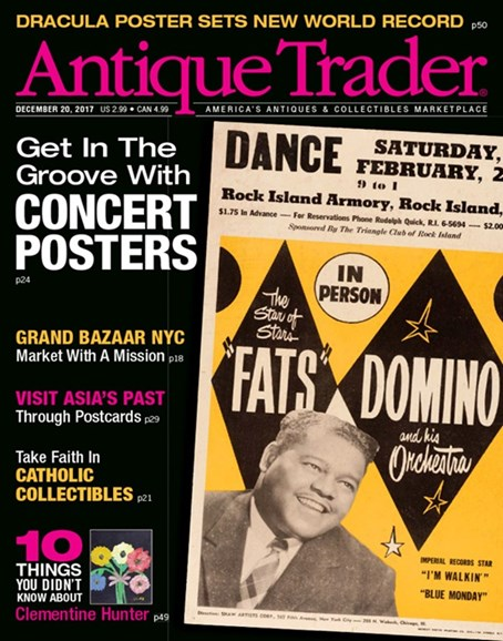 Antique Trader Cover - 12/20/2017