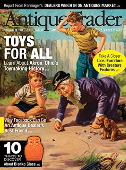 Antique Trader Cover - 2/28/2018