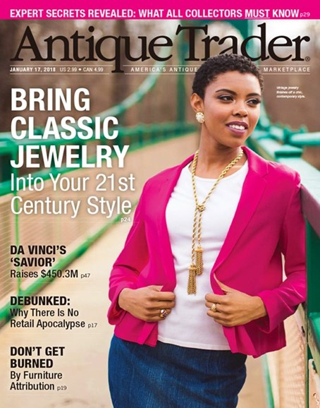 Antique Trader Cover - 1/17/2018