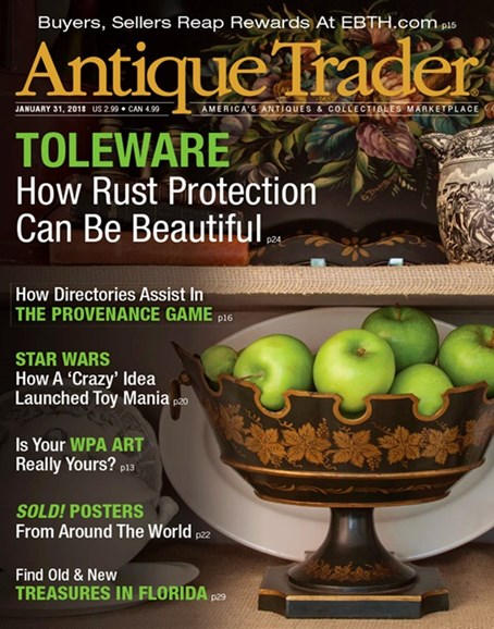 Antique Trader Cover - 1/31/2018