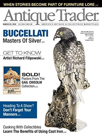 Antique Trader Cover - 3/28/2018