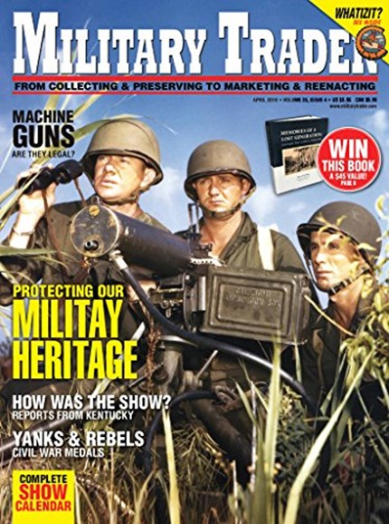 Military Trader Cover - 4/1/2018