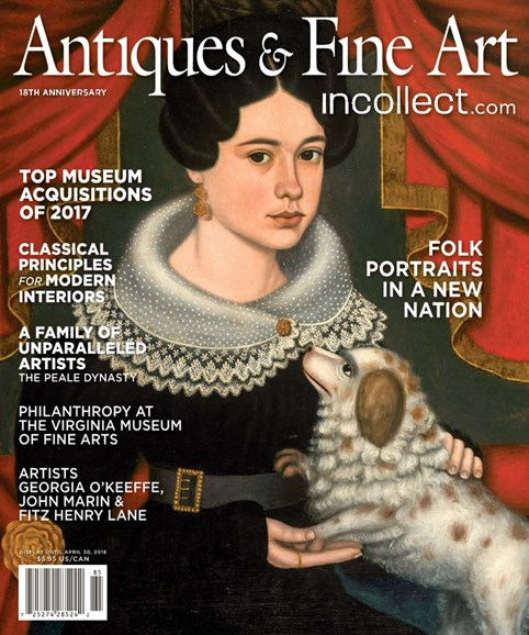 Antiques & Fine Art Cover - 3/1/2018