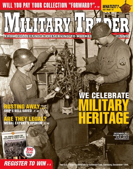 Military Trader Cover - 12/1/2017
