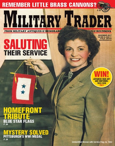 Military Trader Cover - 11/1/2017
