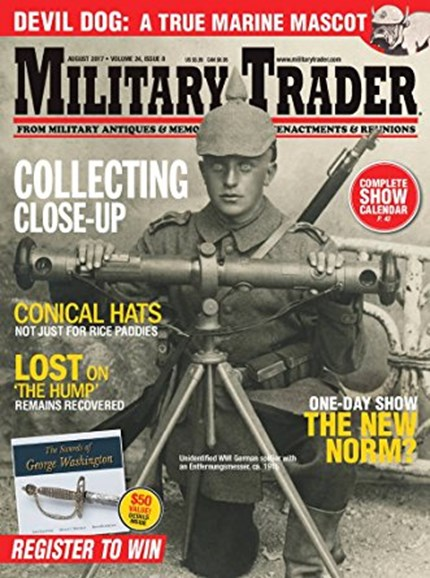 Military Trader Cover - 8/1/2017