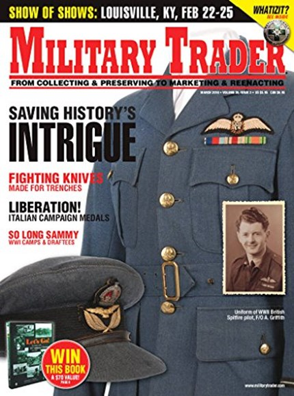 Military Trader Cover - 3/1/2018