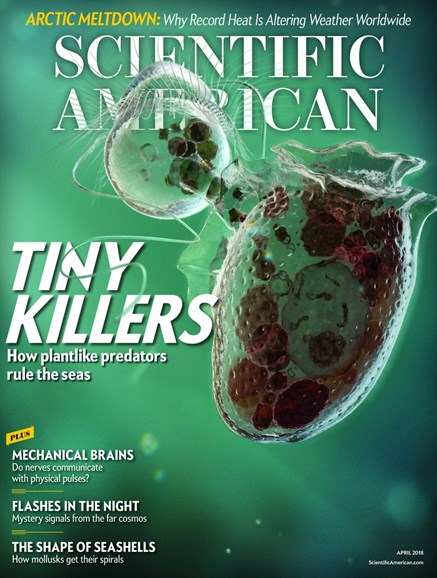 Scientific American Cover - 4/1/2018
