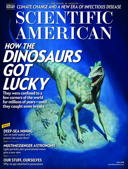 Scientific American Cover - 5/1/2018