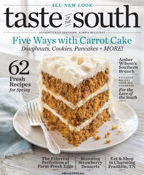 Taste of the South Cover - 3/1/2018