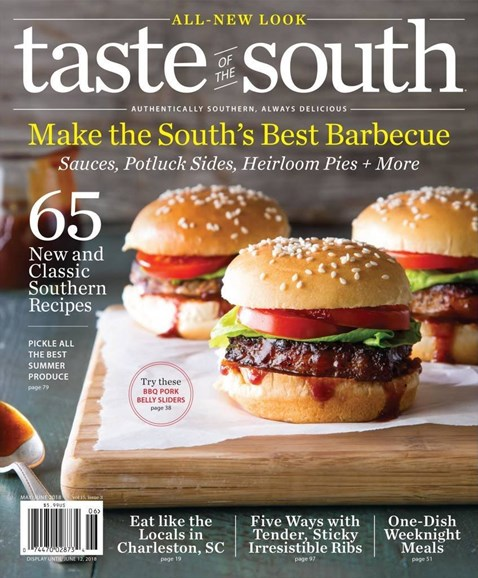 Taste of the South Cover - 5/1/2018