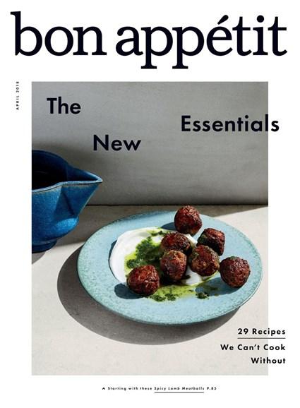Bon Appétit Cover - 4/1/2018