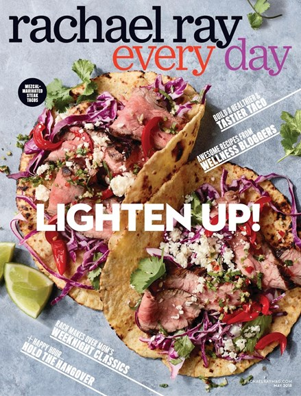 Rachael Ray Every Day Cover - 5/1/2018