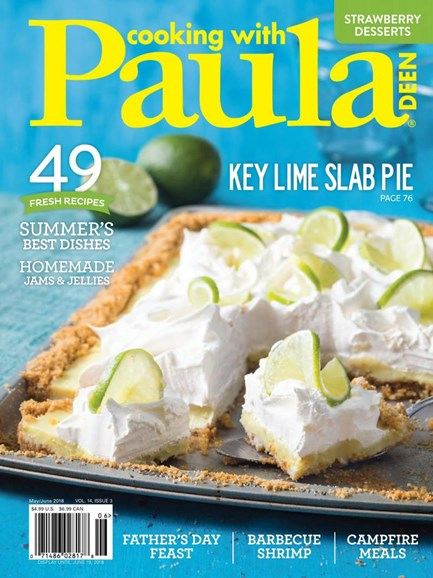 Cooking With Paula Deen Cover - 5/1/2018